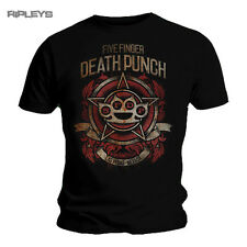 Official T Shirt Five Finger Death Punch   Badge of Honour All Sizes