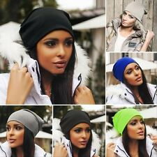 New Winter Warm Women/Men Knit Ski Crochet Slouch Hat Cap Beanie Hip-Hop Hats