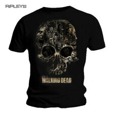 Official T Shirt THE WALKING DEAD   Zombie SKULL Collage All Sizes