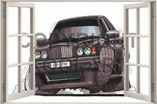 Huge 3D Koolart Window view Bentley Type R Turbo Wall Sticker Poster 673