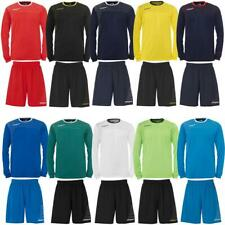 Uhlsport Match Team Kit (Shirt&Shorts) langarm Trikot Set Fußball Trainingsset