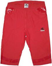 adidas Techfit Powerweb Tight Short rot Funktionshose