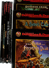 TSR ADVANCED DUNGEONS & DRAGONS 2.5E ADVENTURES AD&D PLAYERS OPTIONS PO S&K AD&D