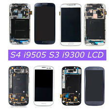 Per Samsung Galaxy S4 i9505 S3 i9300 Mini LCD Display Touch Screen Schermo Frame