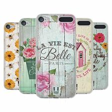 HEAD CASE DESIGNS COUNTRY CHARM SOFT GEL CASE FOR APPLE iPOD TOUCH MP3