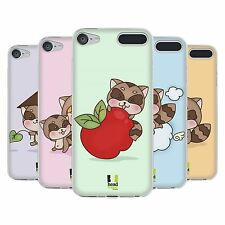 HEAD CASE DESIGNS TANUKI SOFT GEL CASE FOR APPLE iPOD TOUCH MP3