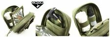 Condor Recon Gun Cleaning Kit Molle Compatable - Olive Drab Black and Tan - Army