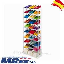 Mueble Zapatero Estanteria Organizador Zapatos 30 Pares Shoes Rack 10 Alturas