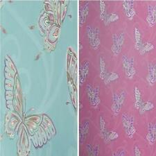 NEW LUXURY HOLDEN DECOR PAPILLON BUTTERFLY MOTIF PINK BLUE 10M WALLPAPER ROLL