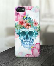 Calaveras Esqueleto carcasa iPhone,Estampado para 5c Iphone 6 Iphone 6+ Funda