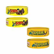 XMEN PVC WRIST BAND RUBBER PRINTED WRISTBANDS WOLVERINE CYCLOPS MAGNETO FILM