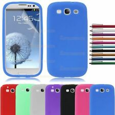 Soft Silicone Back Case Cover Pouch Skin Rubber For Samsung Galaxy S3 SIII i9300
