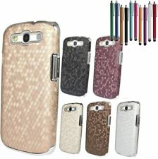 Fish-Scale Pattern Chrome Back Case Cover Skin For Samsung Galaxy S3 SIII i9300