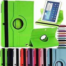 "360 Girevole Custodia Cover In Pelle SAMSUNG GALAXY TAB 2 3 10.1"" P5200,P5210,"