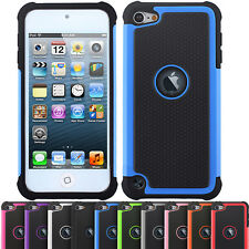 Shock Proof Dual Layer Silicone Hard Case Cover For Apple iPod Touch 5 G 5th Gen