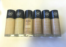 Revlon Colorstay 24 Hours Skin Foundation Makeup comb / oily skin *choose shade*