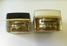ELIZABETH GRANT CAVIAR EYE CREME / COLLAGEN NIGHT CREME/ CELL ACTIVE CONCENTRAT