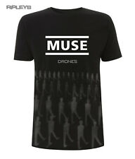 Official T Shirt MUSE Logo Drones Album   TONED Drones All Sizes