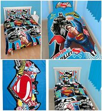 Batman Vs Superman Reversible Duvet Cover Bed Sets, Towel, Accessories