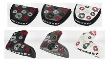 ODYSSEY SWIRL PUTTER COVER/HEADCOVER (VARIOUS COLOURS) STANDARD & MALLET/2-BALL