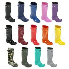 KIDS BOYS & GIRLS WELLINGTON BOOTS/ WELLIES / WINTER BOOTS/ EUR 36-41 / UK 3 - 7