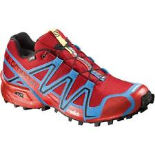 Scarpa Trail Running SALOMON SPEEDCROSS 3 GTX® col.Radiant red process blue