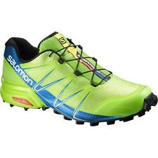 Scarpe Trail Running SALOMON SPEEDCROSS PRO Granny green union blue white