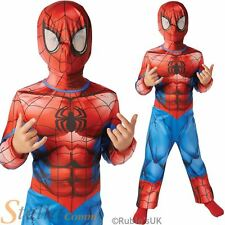 Boys Ultimate Spiderman Superhero Fancy Dress Costume Child Halloween Outfit