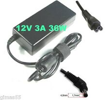 Alimentatore caricabatteria x Asus Eee PC 12V 3,0A 36W con spinotto 4.8x1.7mm