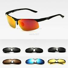 Mens UV 400 Polarized Multi-color Rimless Sunglasses Outdoor Driving Glasses Hot