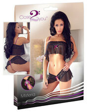 Completino Sexy Lingerie Close2You Hot Underwear Top and Panties