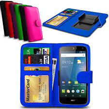 Clip On PU Leather Flip Wallet Book Case Cover For Lenovo A536