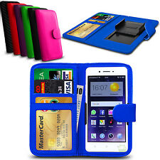 Clip On PU Leather Flip Wallet Book Case Cover For Oppo R7s
