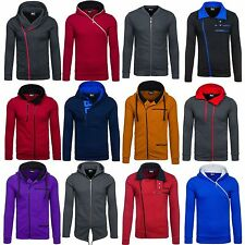 BOLF Men's shirt Hooded Pullover Sweat Jacket Men's Hoodie 1A1 Mix Sweatshirt