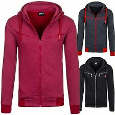 BOLF Men's shirt Hooded Pullover Sweat Jacket Men's Hoodie Hood 1A1 Sweatshirt
