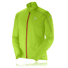 Salomon S-Lab Light Trail Herren Winddicht Jacke Laufjacke Funktionsjacke Grün