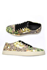 Scarpe Gucci Shoes % Pelle MADE IN ITALY Uomo Verde 407343KU2N0-8960