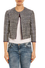 Giubbino Giacca Pinko Jacket -55% MADE IN ITALY Donna Blu 1N10J35171-