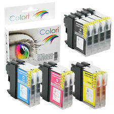 Set 10x Tinte Druckerpatrone für Brother DCP 375CW DCP-375CW 377CW DCP-377CW