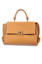 BORSA TRACOLLA SALVATORE FERRAGAMO BAG -20% MADE IN ITALY DONNA Marrone 21D543-