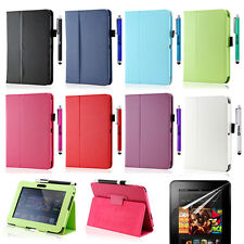 Para 2012 Amazon Kindle Fire HD 17.8cm Tipo libro Libro Cuero de PU