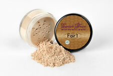 FAIR 1 FOUNDATION Mineral Makeup Matte Jar Bare Skin Sheer Natural Powder Cover
