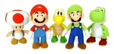 Peluche SUPER MARIO 25cm A SCELTA Ufficiale NINTENDO Together Plus PLUSH Bros