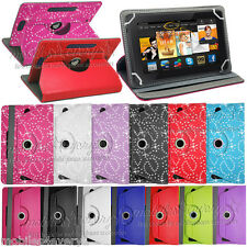 """Universal 360 Degree Rotating Case Cover Folding Stand For LINX 7"""" inch Tablet"""