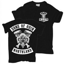 T-Shirt Sons of Odin northland germanen wikinger vikings walhalla valhall thor