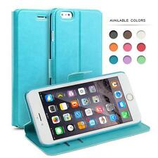 iPhone Flip Case, PU Leather Slim Wallet Case Cover for iPhone