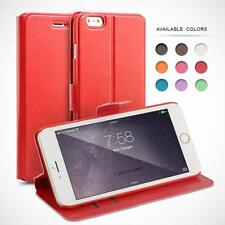 PU LEATHER FLIP CASE COVER, SLIM FAUX LEATHER CASE FOR IPHONE