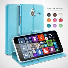 Wallet Case Cover for Microsoft Lumia, Protective Leather Cases Flip Cover Book