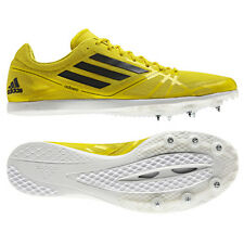 Adidas Adizero Avanti 2 Running Shoes Athletics Spikes Unisex yellow new
