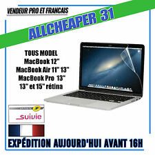 FILMS DE PROTECTION PROTECTEUR ECRAN lcd MacBook MacBook Pro MacBook Air